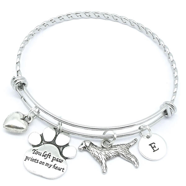 Dog Pet Remembrance Memorial Bracelet Bereavement Jewellery Gift